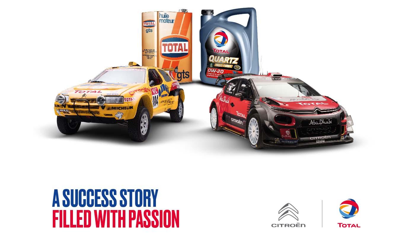50 ans Citroën Total